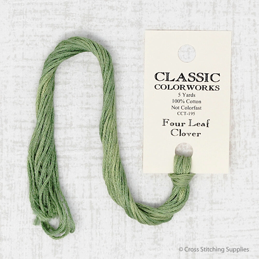 Four Leaf Clover Classic Colorworks embroidery thread