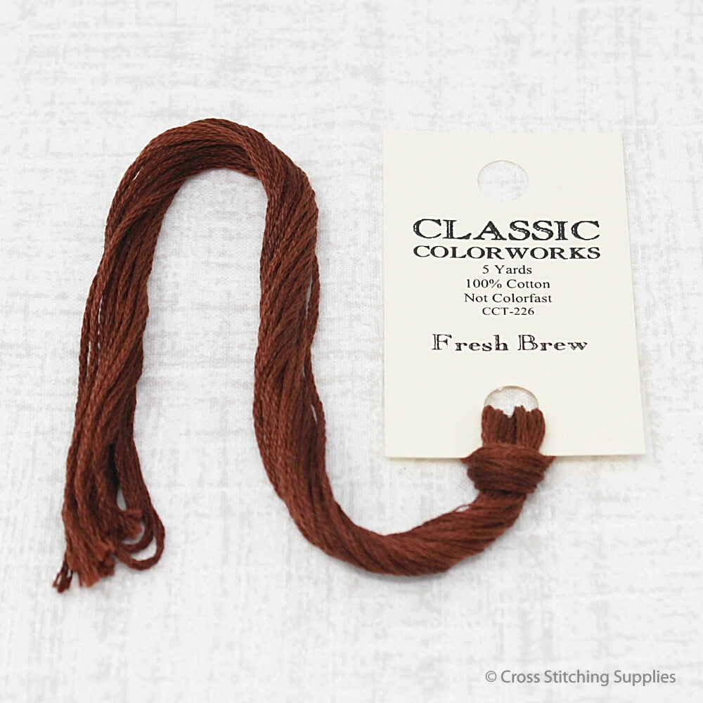 Fresh Brew Classic Colorworks embroidery floss