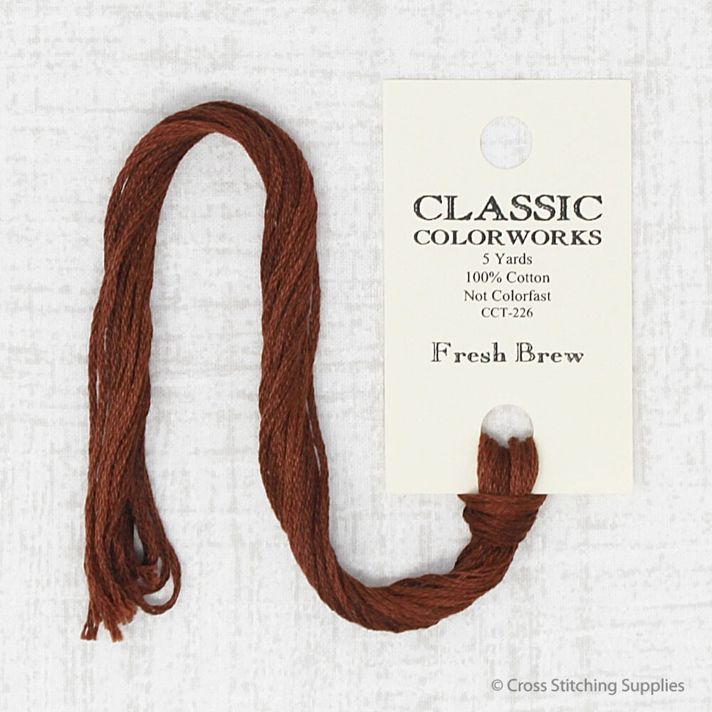 Fresh Brew Classic Colorworks embroidery thread