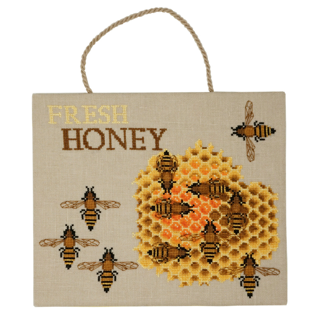 Fresh Honey Cross Stitch Pattern | Thread Maniac Designs