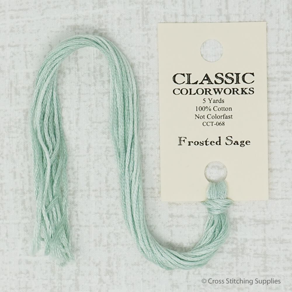 Frosted Sage Classic Colorworks embroidery thread