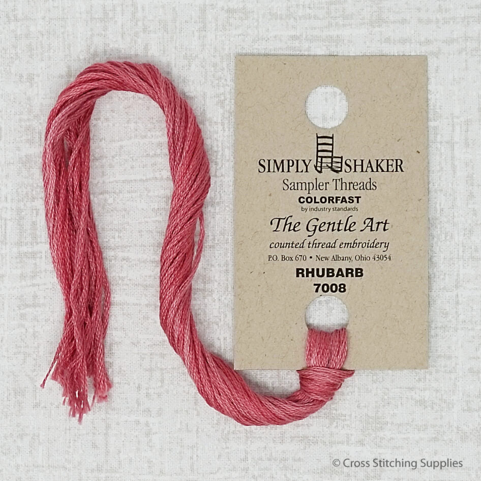 Rhubarb The Gentle Art embroidery thread
