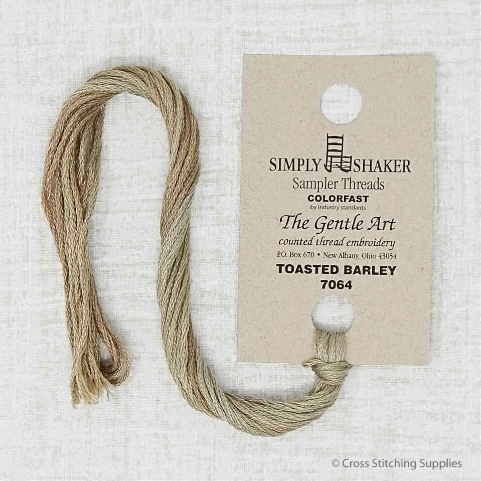 Toasted Barley The Gentle Art embroidery thread