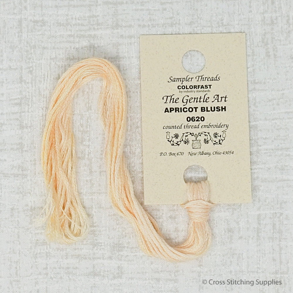 Apricot Blush The Gentle Art embroidery thread