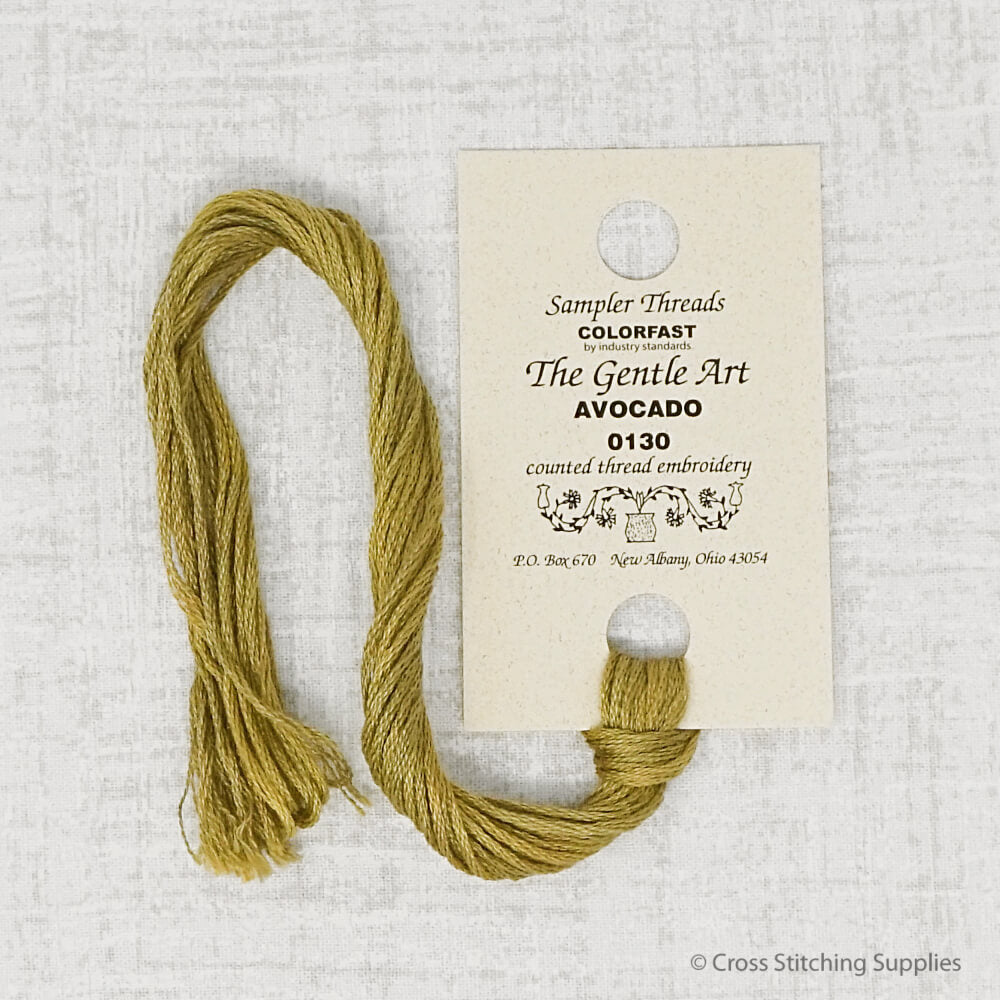 Avocado The Gentle Art embroidery thread