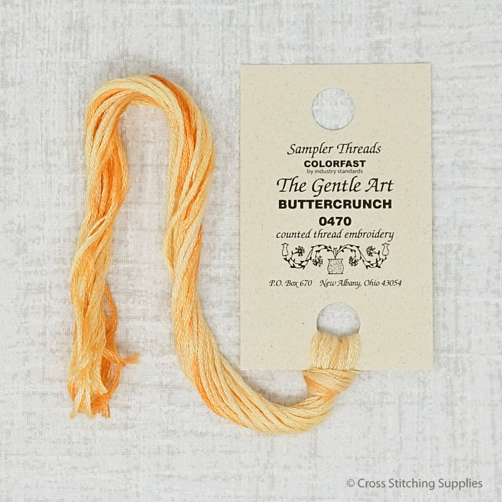 Buttercrunch The Gentle Art embroidery thread
