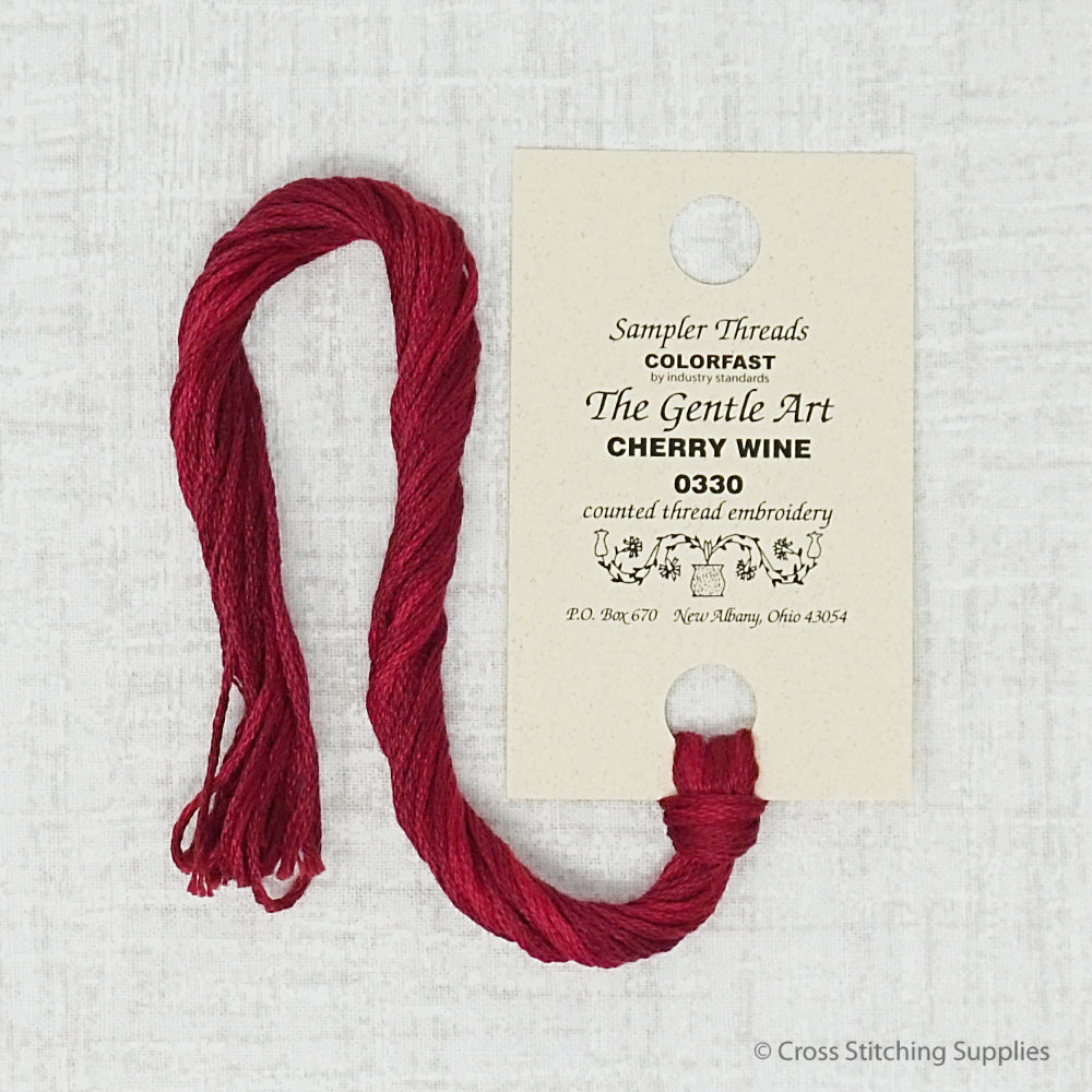 Cherry Wine The Gentle Art embroidery thread