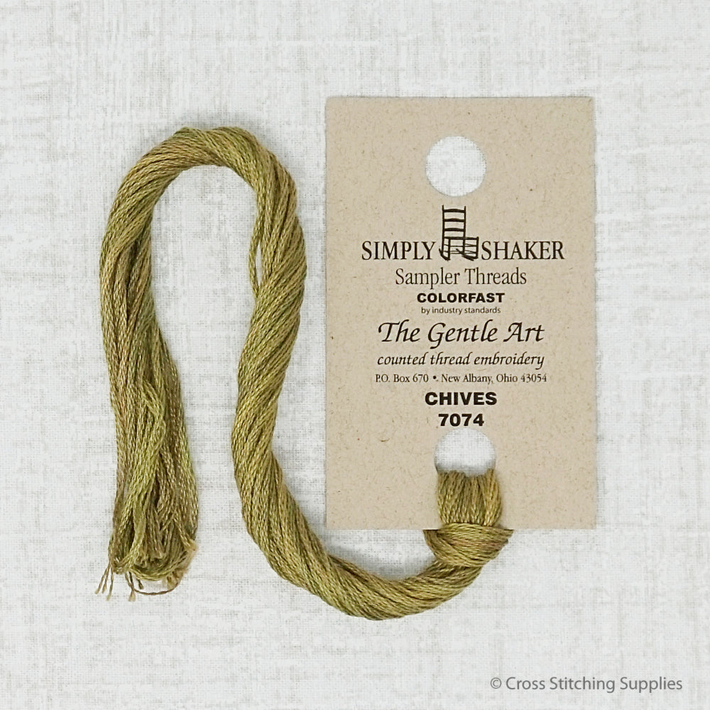 Chives The Gentle Art embroidery thread