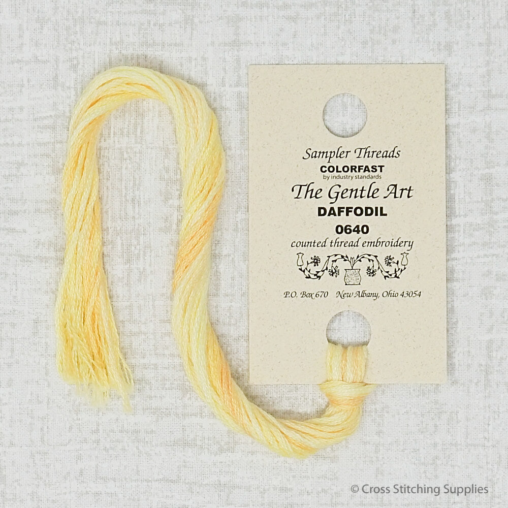 Daffodil The Gentle Art embroidery thread