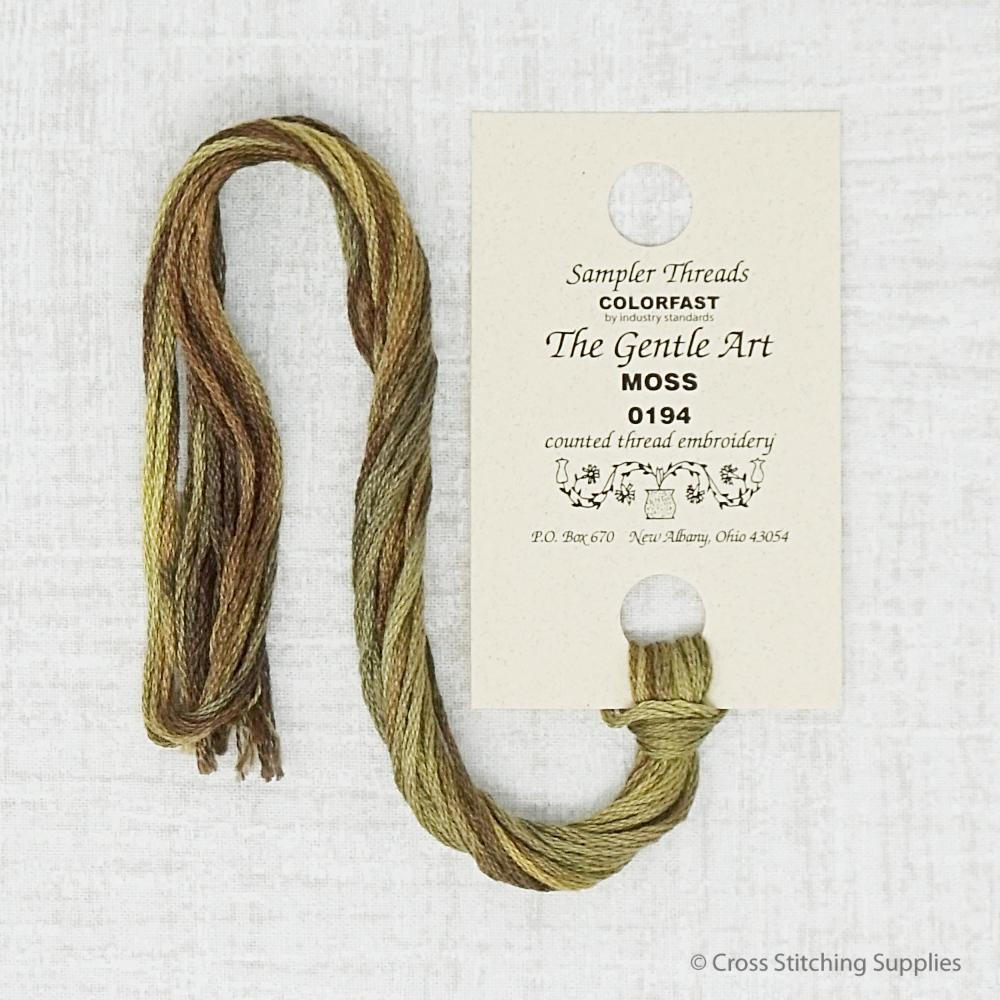 Moss The Gentle Art embroidery thread