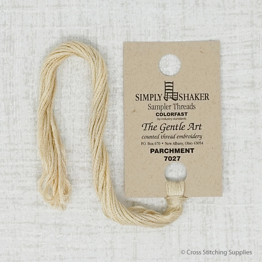 Parchment The Gentle Art embroidery thread