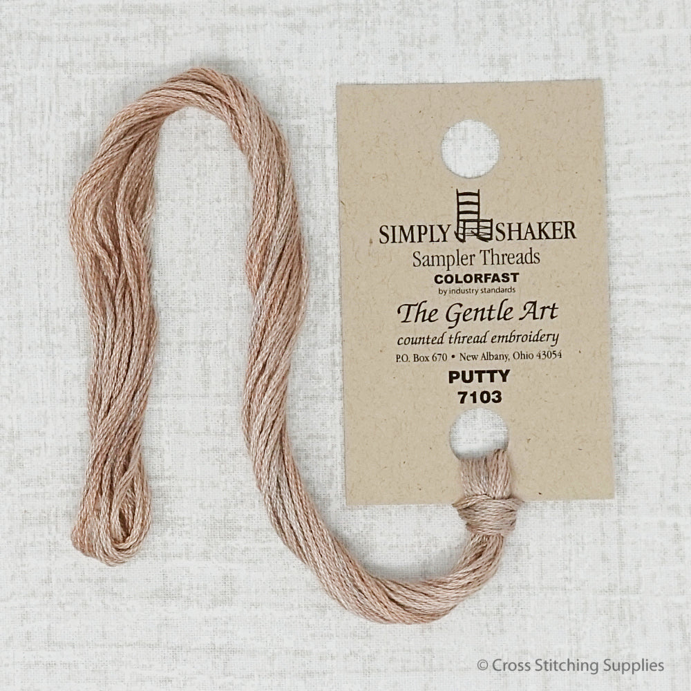 Putty The Gentle Art embroidery thread