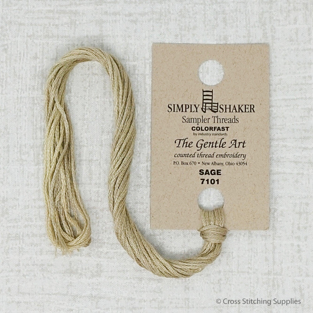 Sage The Gentle Art embroidery thread