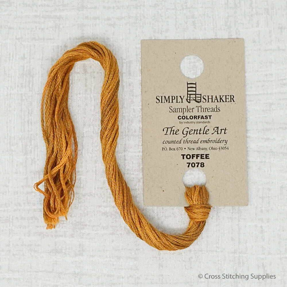 Toffee The Gentle Art embroidery thread