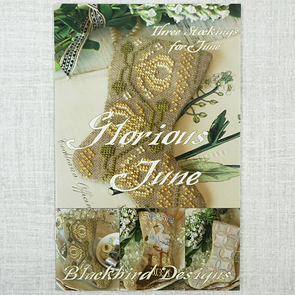 Glorious June counted cross stitch patterns