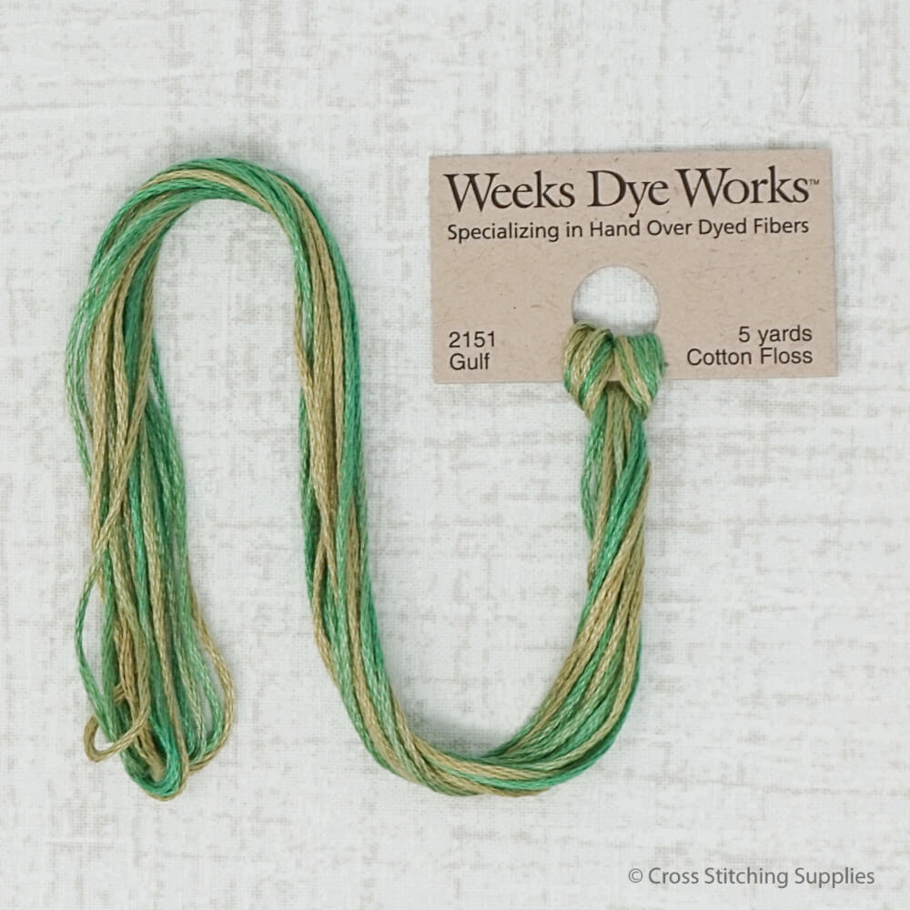 Gulf Weeks Dye Works embroidery thread