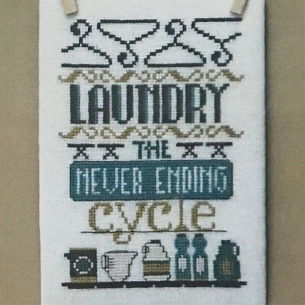 The Never Ending Cycle counted cross stitch chart
