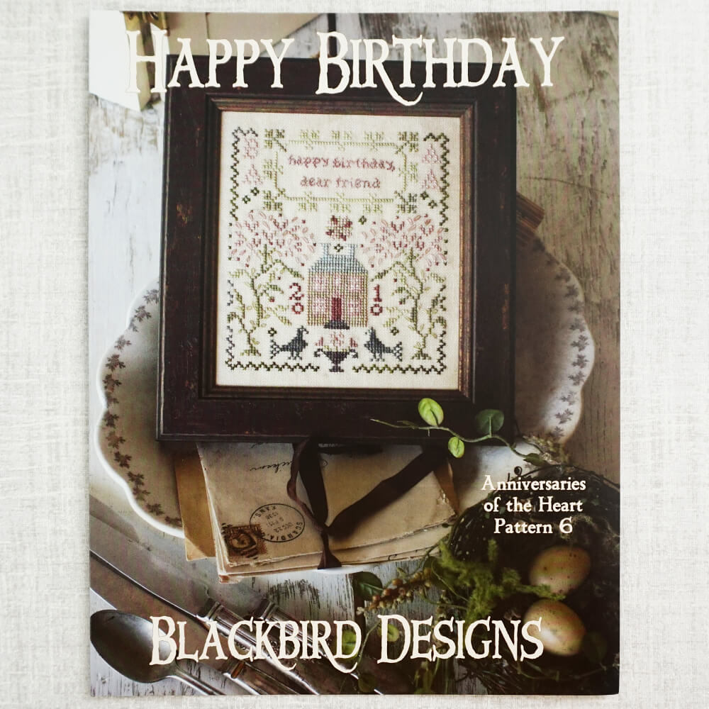 Happy Birthday pattern by Blackbird Designs