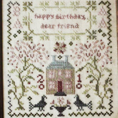 Happy Birthday Cross Stitch Pattern | Blackbird Designs