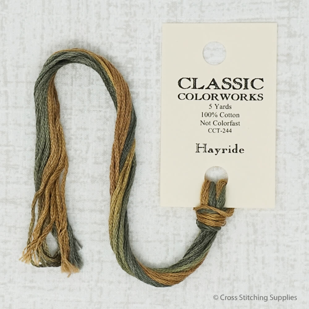 Hayride Classic Colorworks embroidery thread