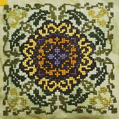 Helianthus Cross Stitch Pattern | Ink Circles