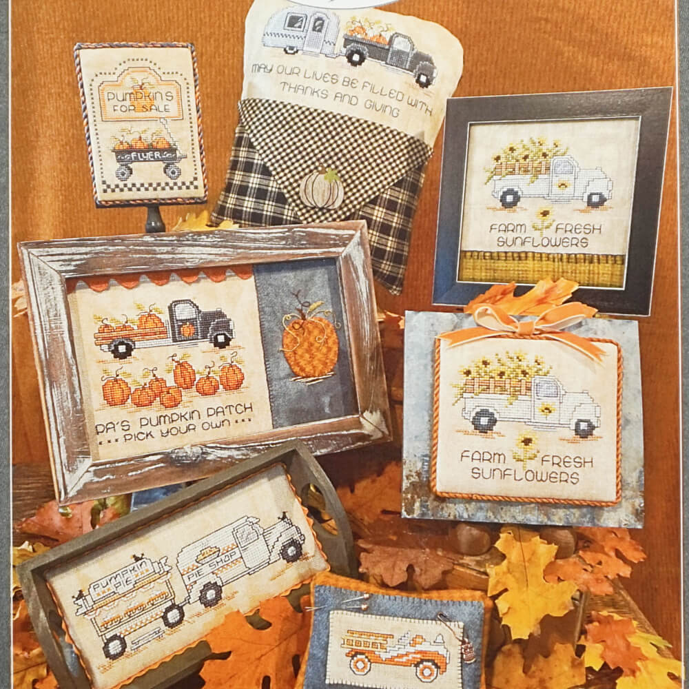 Home for the Harvest counted cross stitch booklet