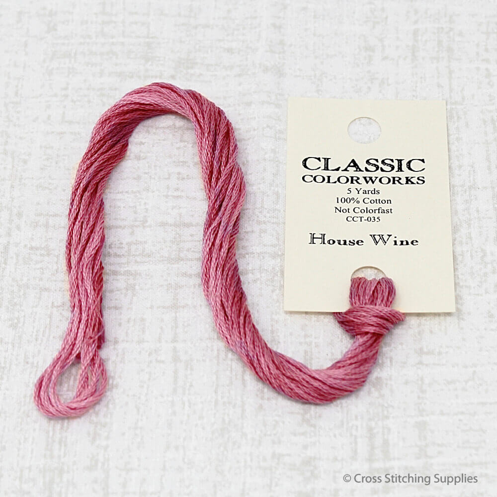 House Wine Classic Colorworks embroidery floss