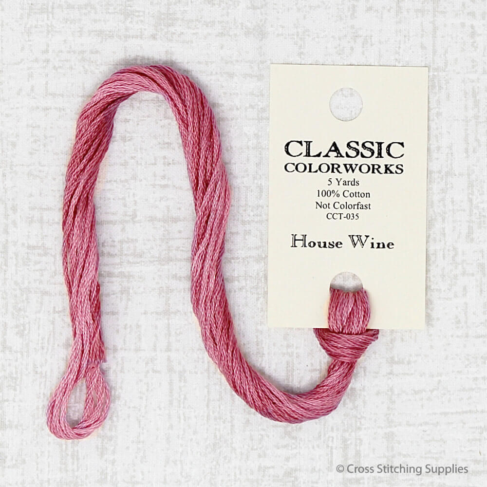 House Wine Classic Colorworks embroidery thread