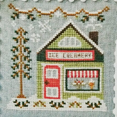 Ice Creamery Cross Stitch Pattern | Country Cottage Needleworks