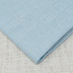 Ice Blue 28 count cashel linen from zweigart