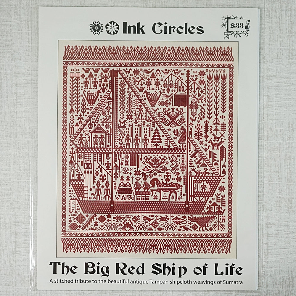 The Big Red Ship of Life by Ink Circles