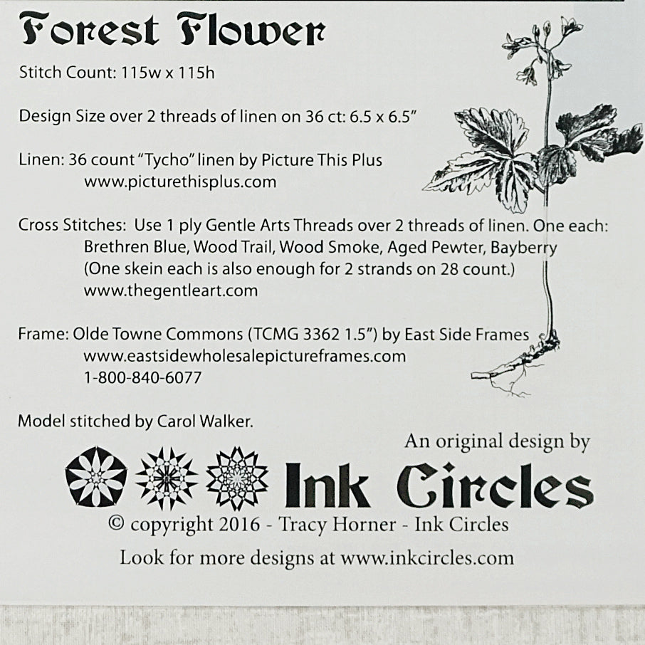 Forest Flower pattern for sale