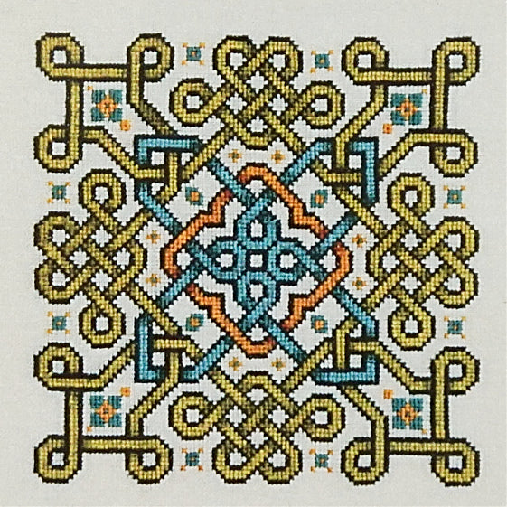 Heliocopter counted cross stitch chart