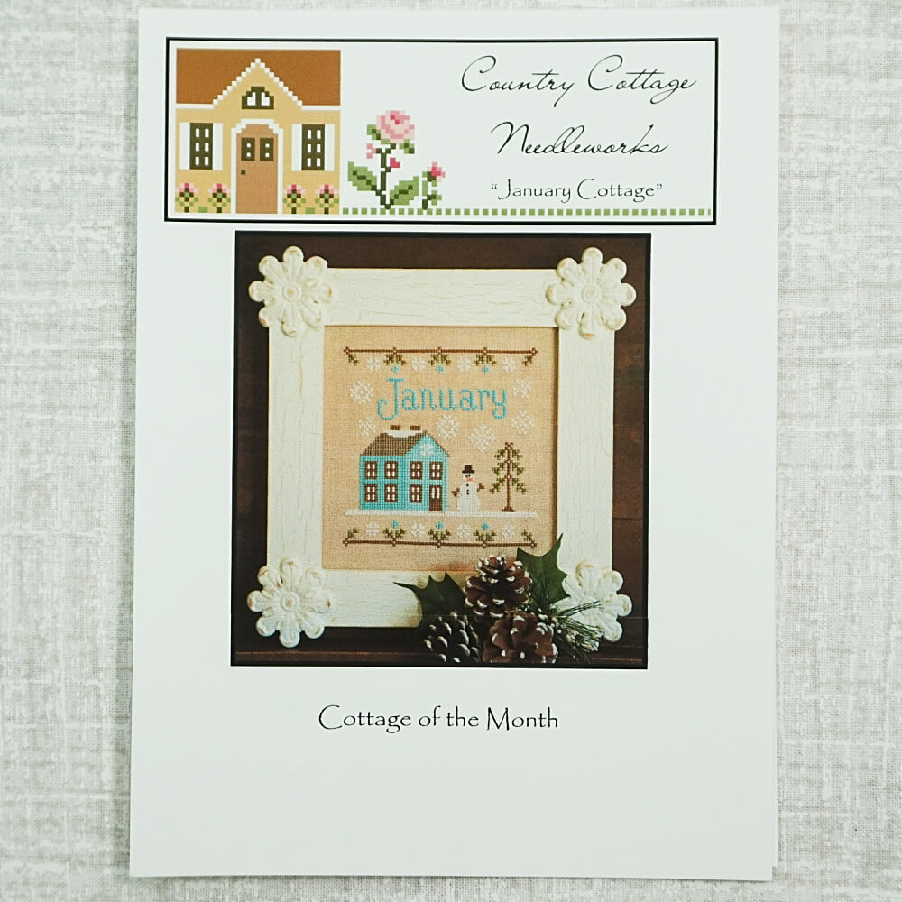 January Cottage pattern by Country Cottage Needleworks
