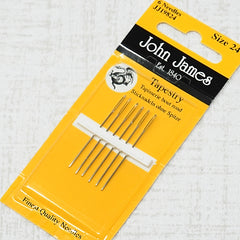 john james needles size 24