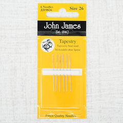 John James needles size 26