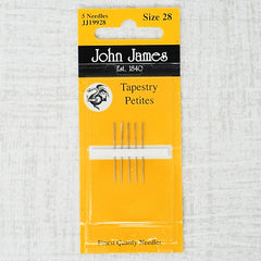 john james needles size 28 petite
