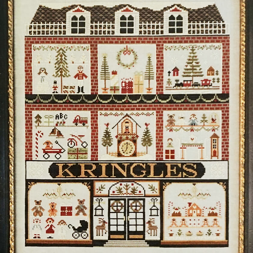 Kringles counted cross stitch pattern