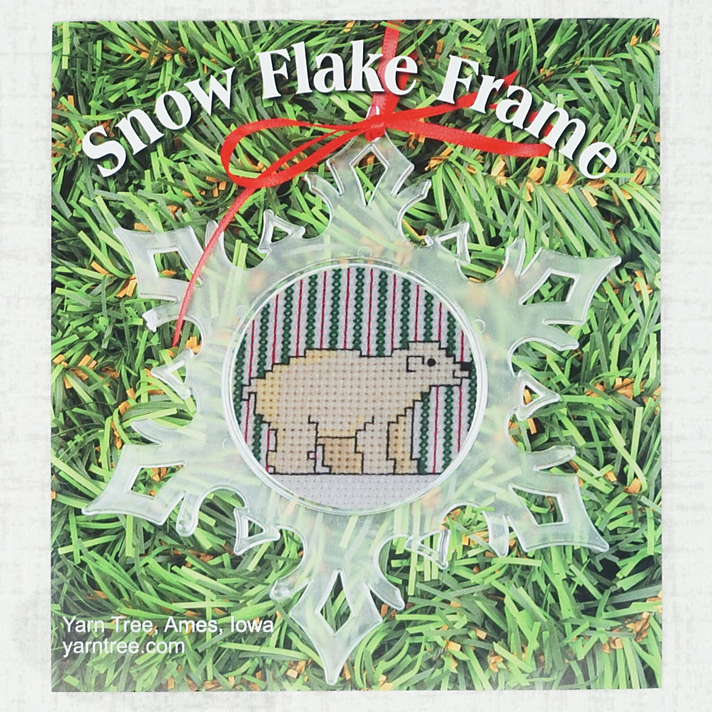 Snowflake Ornament Frame product package