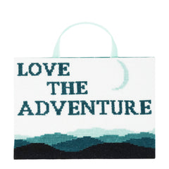 Love the Adventure Thread Maniac Designs cross stitch model stitch