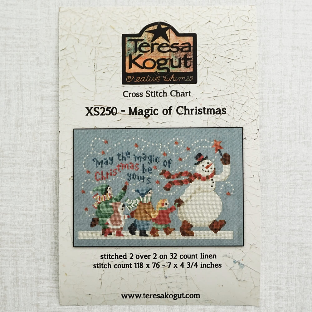 Magic of Christmas pattern by Teresa Kogut