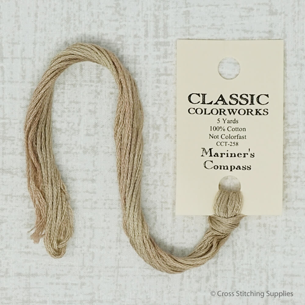 Mariner's Compass Classic Colorworks embroidery thread