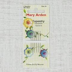 Mary Arden Tapestry Needles, Size 24