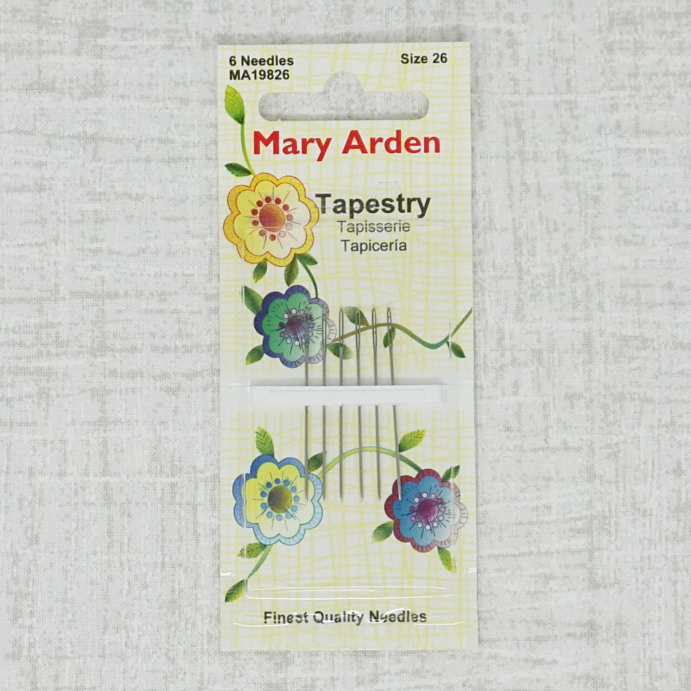 Mary Arden size 26 tapestry needles
