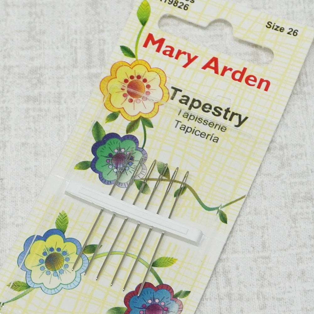 Mary Arden size 26 embroidery needles