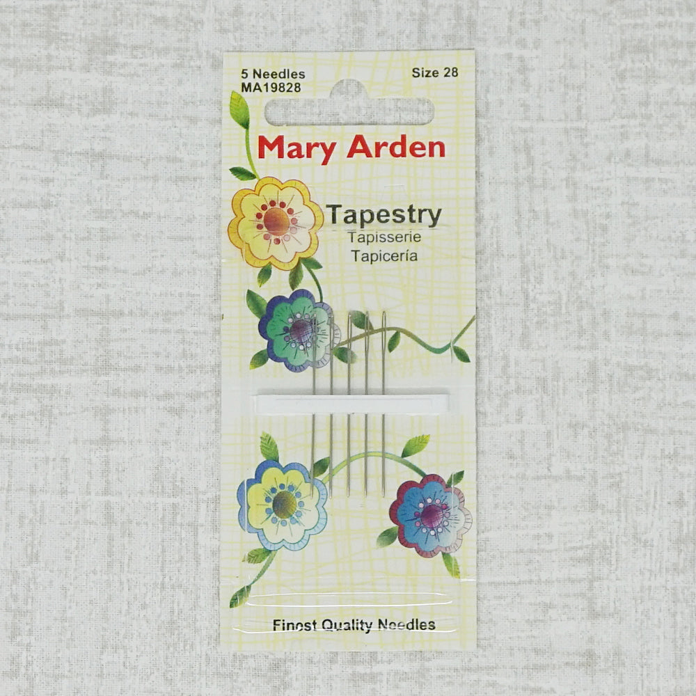 Mary Arden size 28 tapestry needles