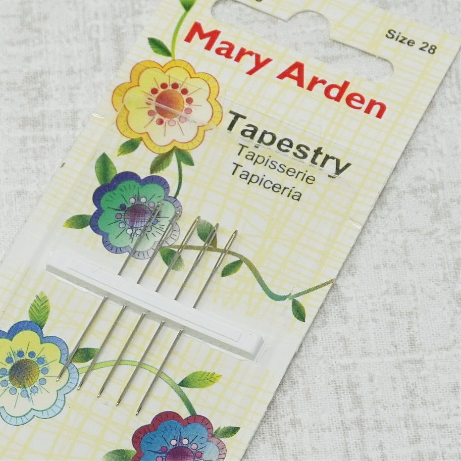 Mary Arden size 28 embroidery needles
