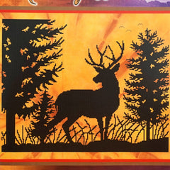 Morning Whitetail counted cross stitch pattern