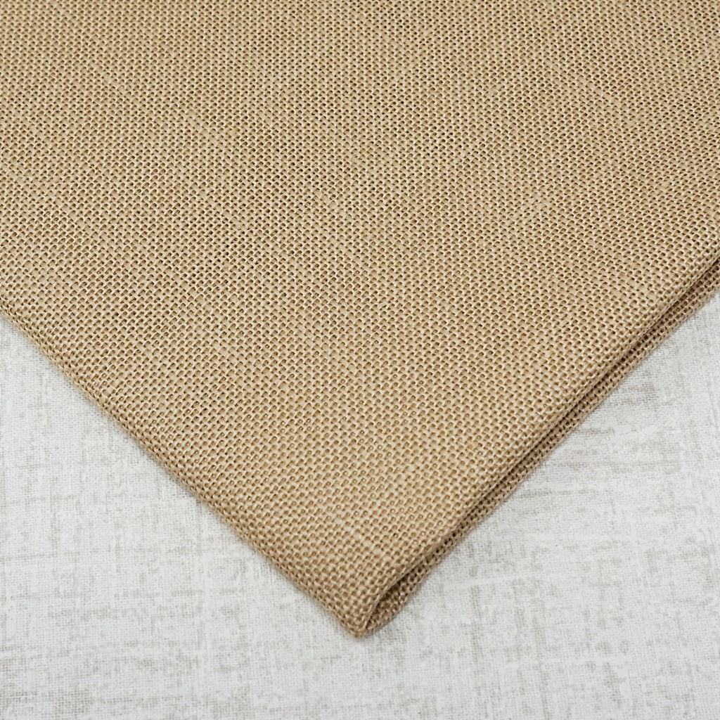 Mushroom/ Light Mocha 28 count cashel linen from Zweigart