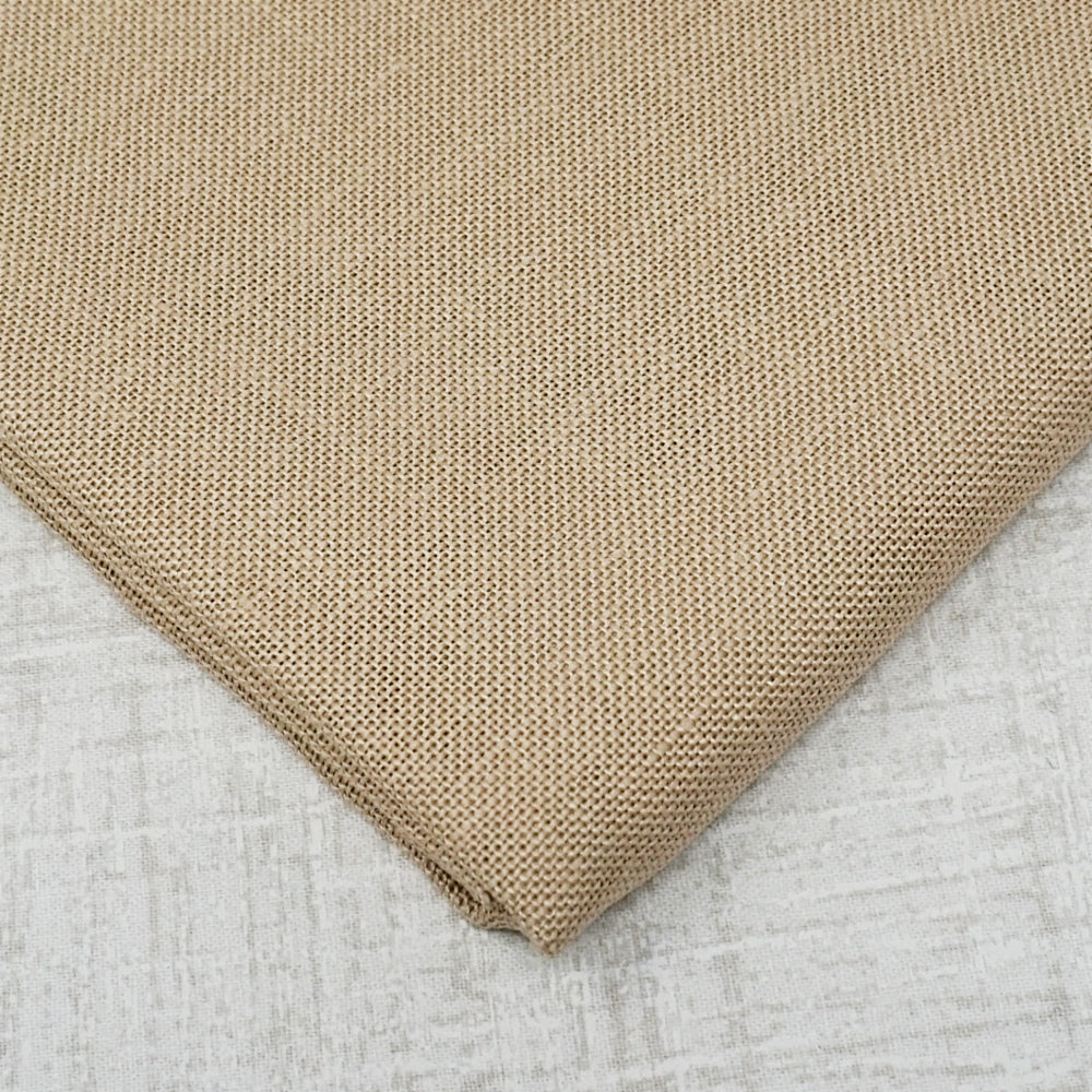 Mushroom/ Light mocha 32 count belfast linen from Zweigart
